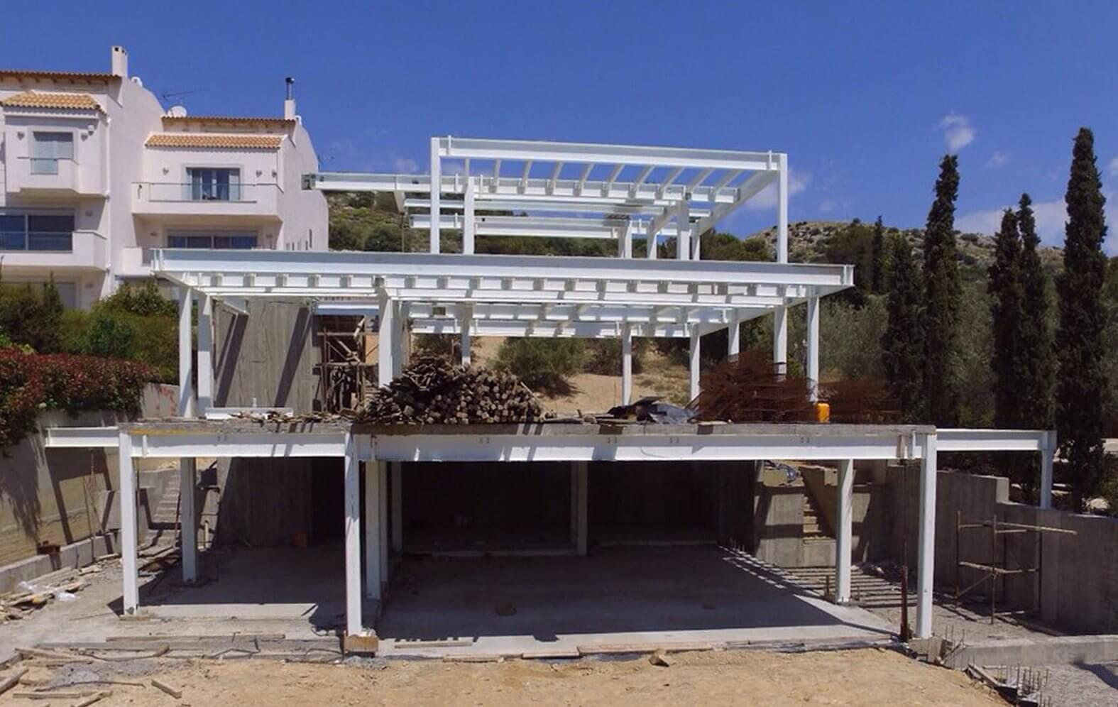 Αρχιτεκτονική Μελέτη Μεταλλικών Κτιρίων - Στέφανος Βασδέκης