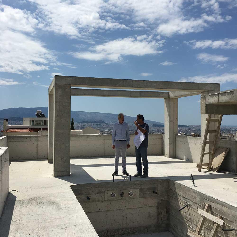 Κατασκευή Έργου - Αρχιτέκτονας Στέφανος Βασδέκης